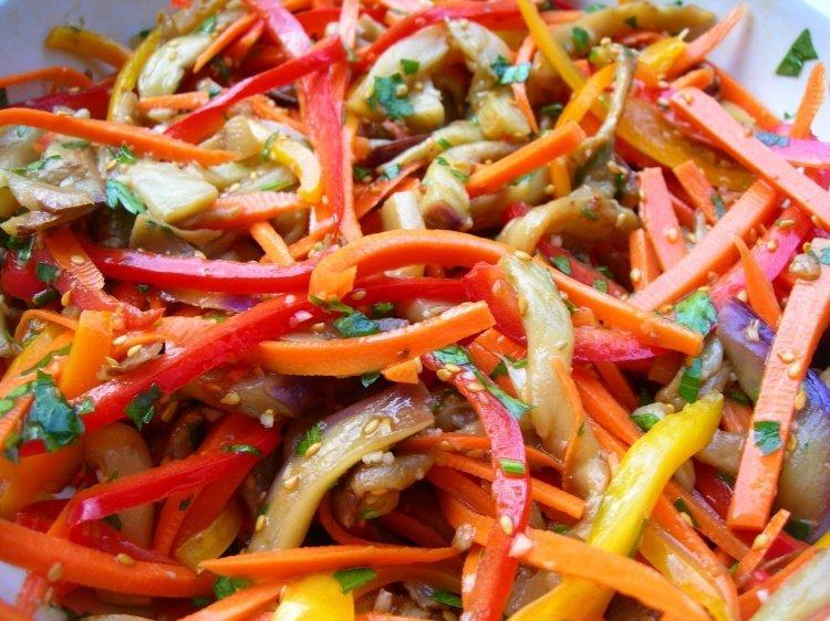 Острый салат с фото