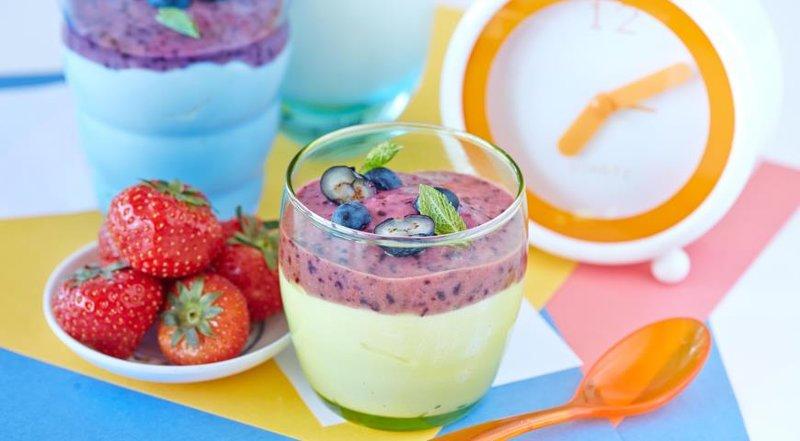Творог ягодами рецепт фото