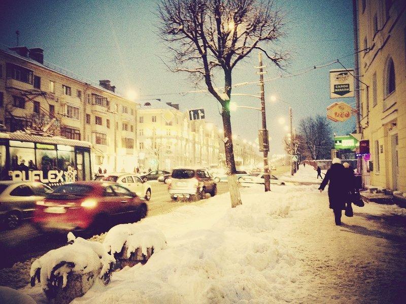 Новый год на улицах Минска