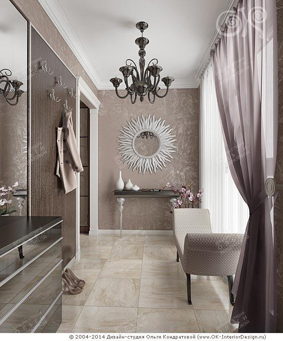 Современная идея дизайна прихожей в частном доме и квартире