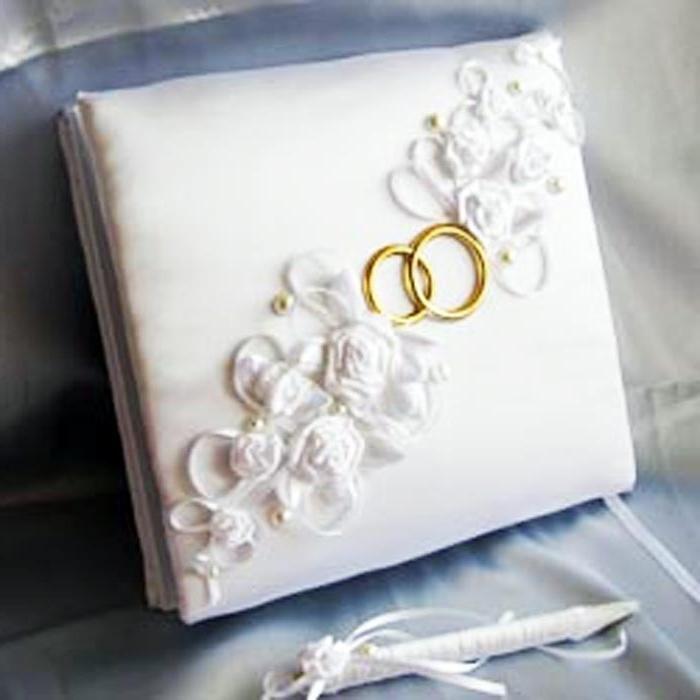 Свадебная открытка с кольцами своими руками