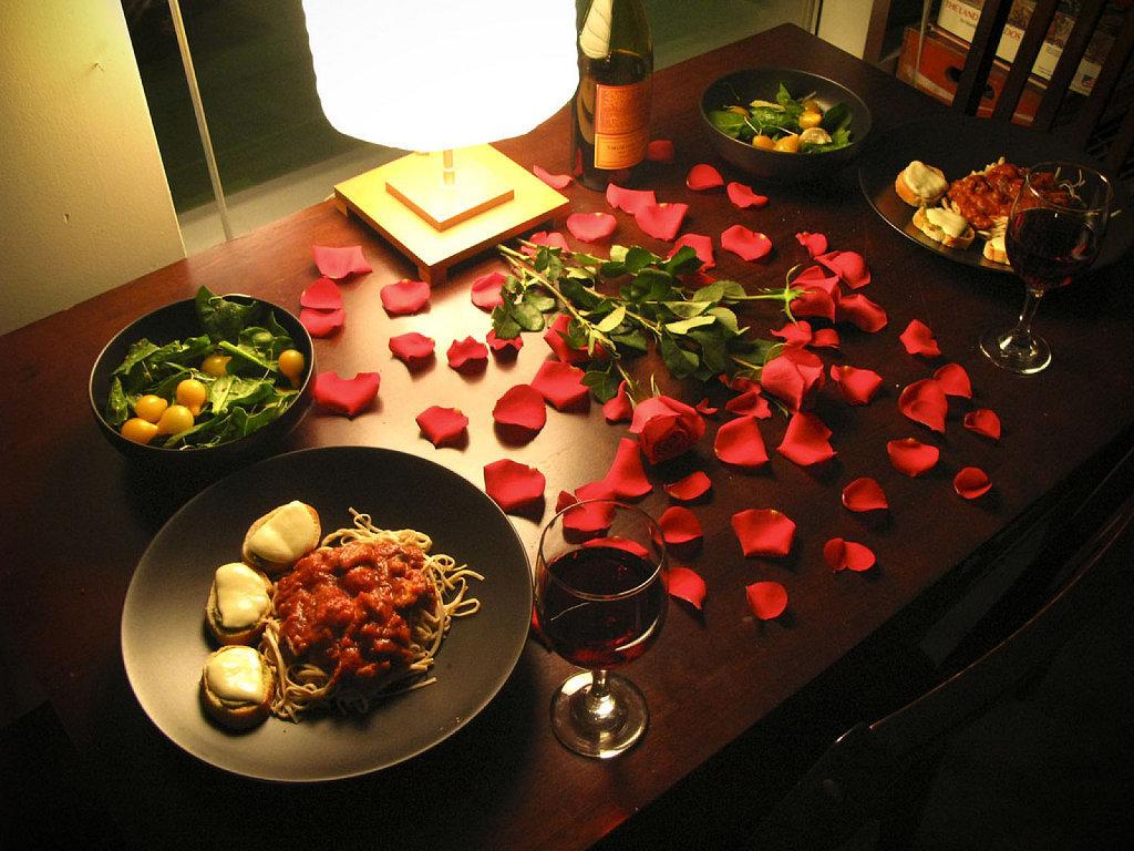 романтический вечер для знакомых