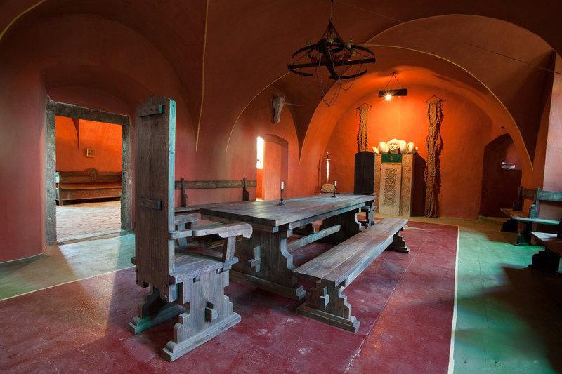 Замок Сент - Миклош, одна из комнат