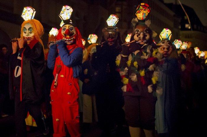 Карнавал «Basel Fasnacht Carnival» в Швейцарии