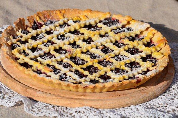 Пирог с вишней рецепт ниже пирог с вишней-самый вкусный и любимый пирог,кисло-сладкий, идеальный вкус.