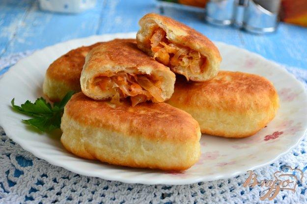 пирожки жареные из свежей капусты