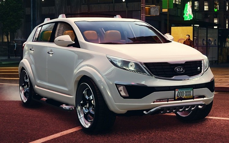 kia sportage tuning card from user notdolphinnot in. Black Bedroom Furniture Sets. Home Design Ideas