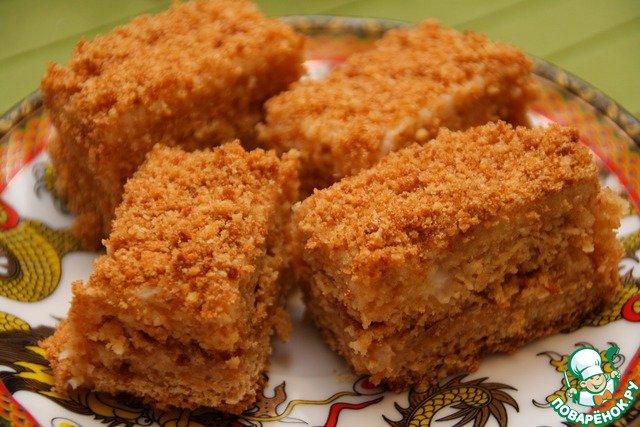 Классический рецепт торта медовый с фото