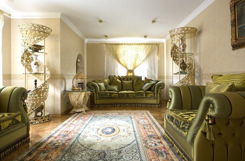 Дизайн интерьера в стиле Барокко.