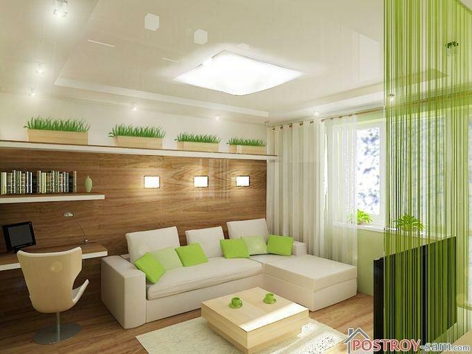 Каким должен быть экостиль в интерьере спальни, гостиной, кухни? Особенности стиля, фото примеры интерьеров.
