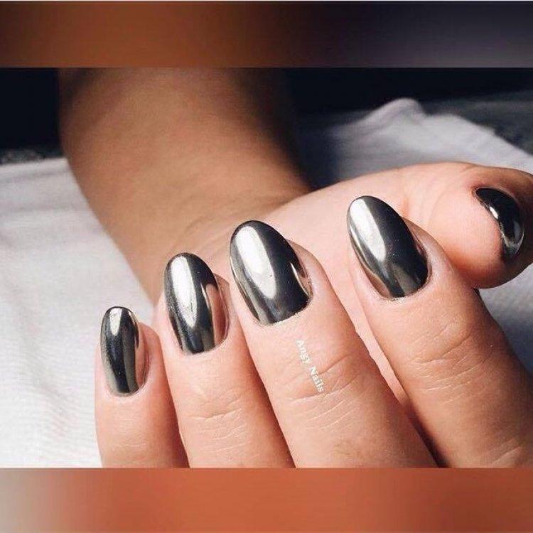 илиана картинки черных ногтей с втиркой поделиться