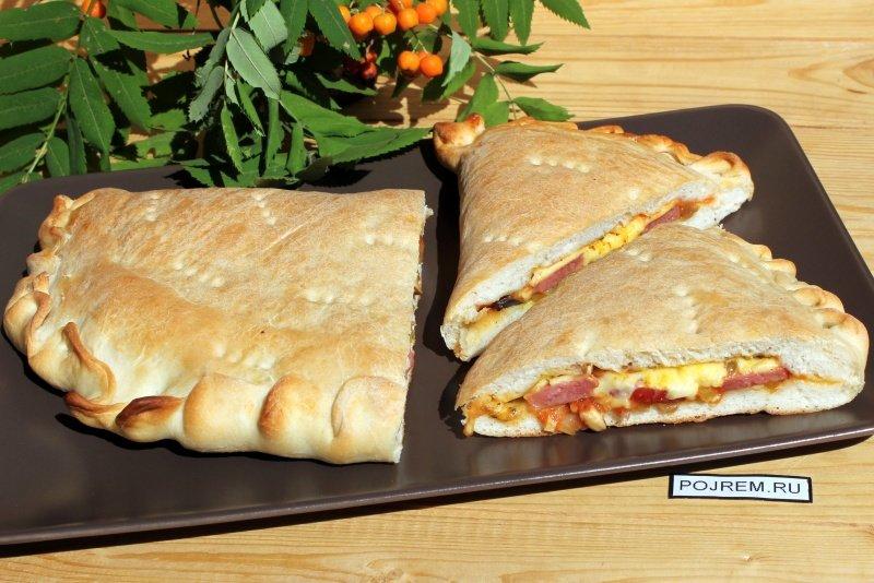 Пицца кальцоне рецепт в домашних условиях