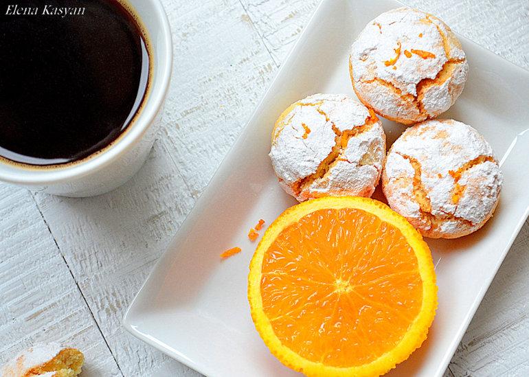 печенье с цедрой апельсина рецепт фото
