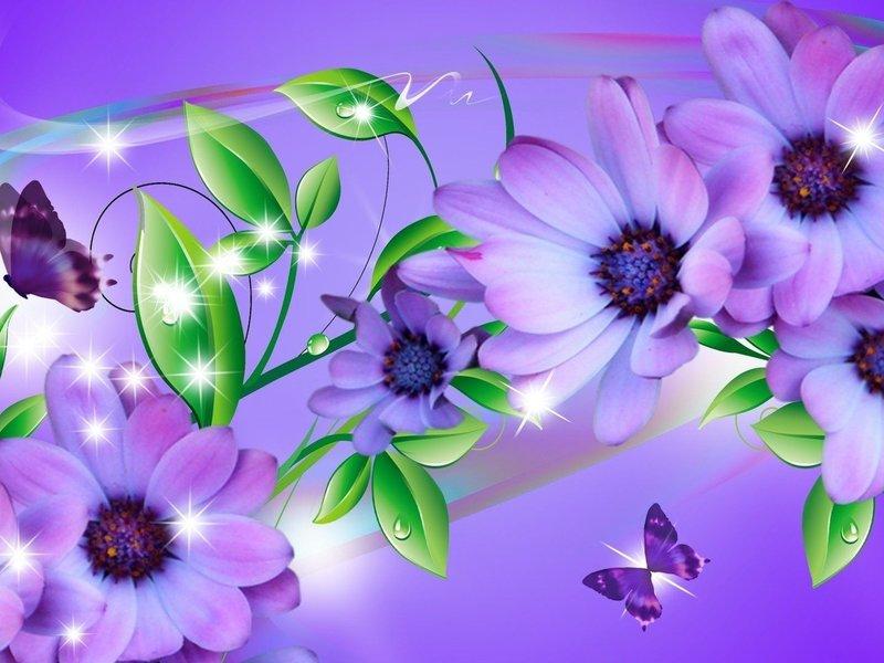 картинки обои цветы