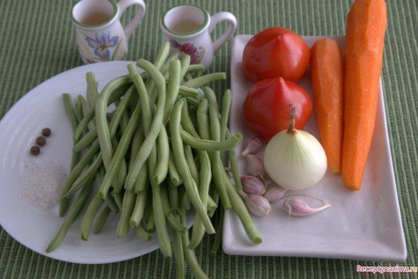 зимние заготовки из фасоли рецепты