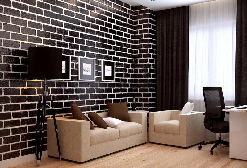 Дизайн интерьера квартиры в современном стиле интерьер кабинета