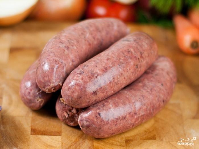 сосиски говядины рецепт фото