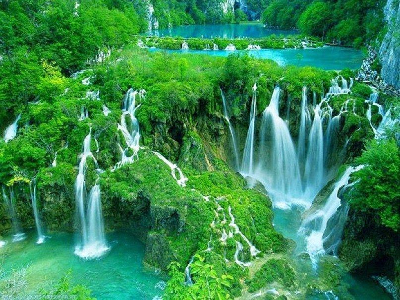 Красивые водопады