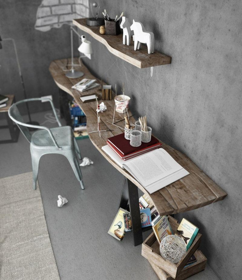если вы не найдете подходящий стол в магазине, его можно сделать на заказ.