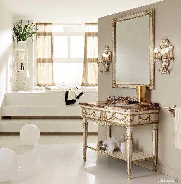 Мебель для ванной Silvano Grifoni в стиле Ампир