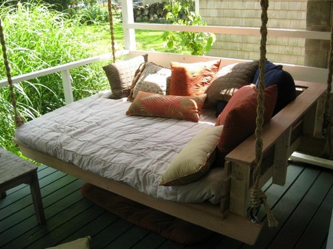 Porch bed swing diy home design ideas.