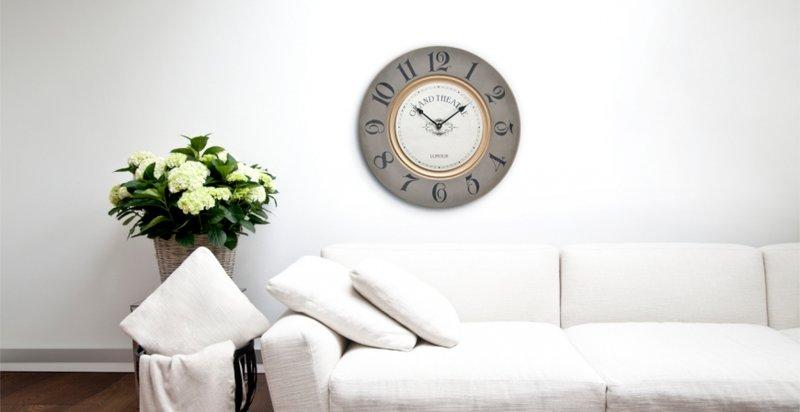 Настенные часы для гостиной комнаты