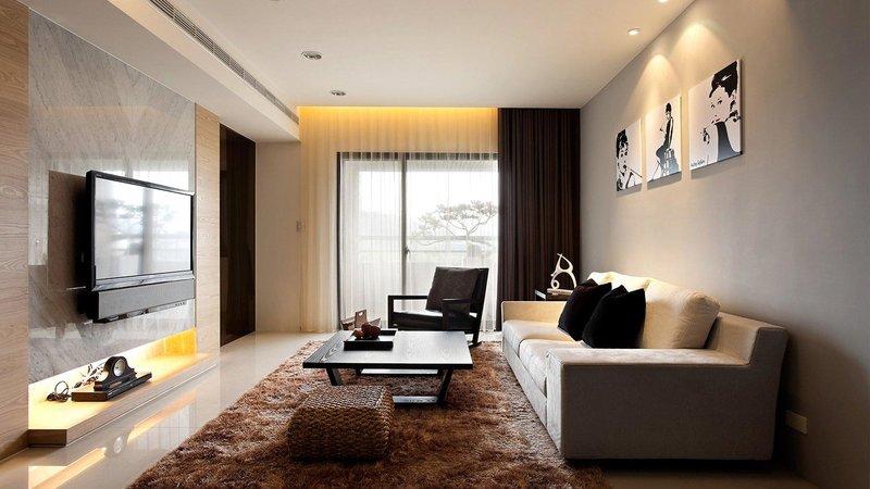 Современные гостиные комнаты дизайн