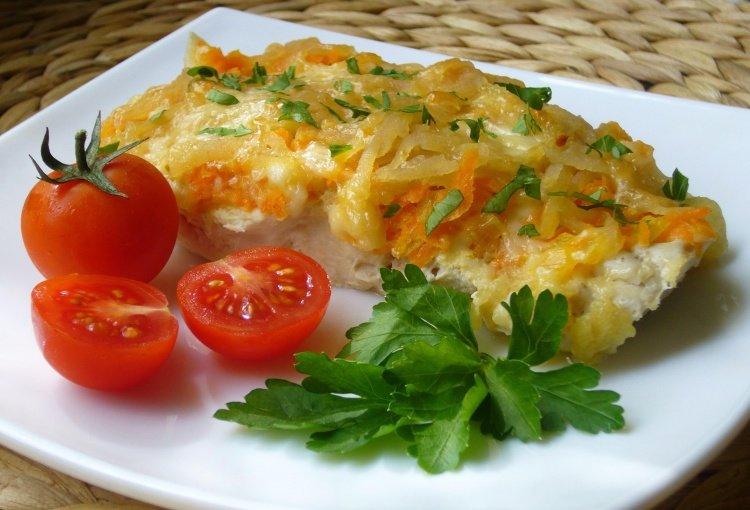 Рецепты блюд из филе минтая в духовке