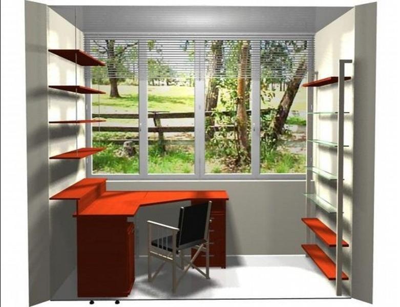 """Мебель для домашнего кабинета на балконе"""" - карточка пользов."""