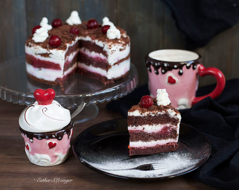 Торт вишневый аромат фото