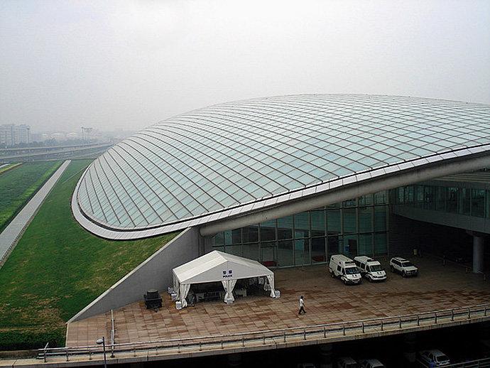 Терминал 3 (Т3) в Международном Аэропорту Пекина, Китай