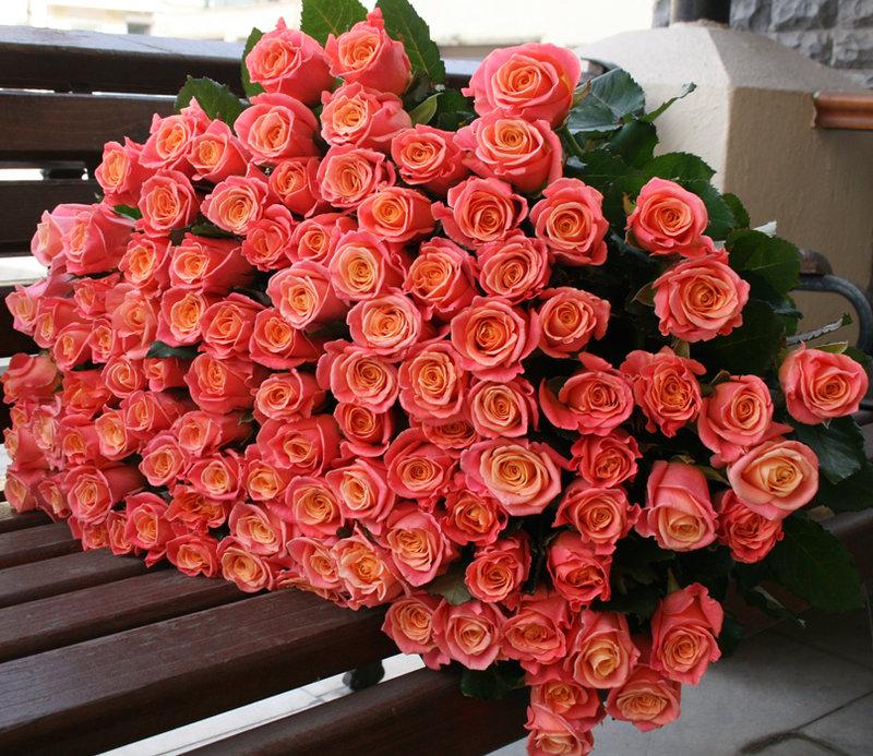 картинки огромный букет цветов