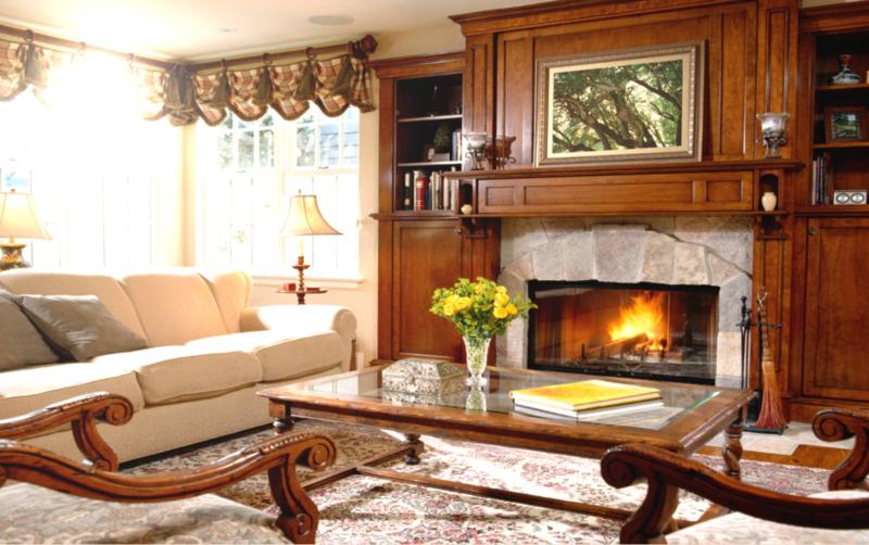 Толькокамин будет создавать атмосферу домашнего уюта и комфорта.