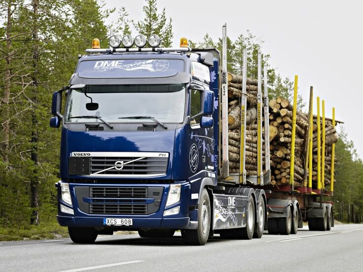 Volvo FH D13 Bio-DME 6×2 Timber Truck Globetrotter Cab '2010