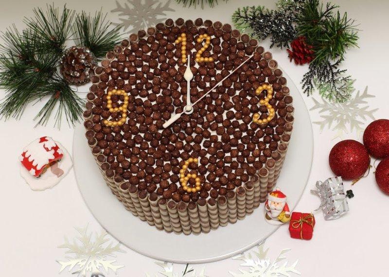 Новый год 2017 рецепты торта фото