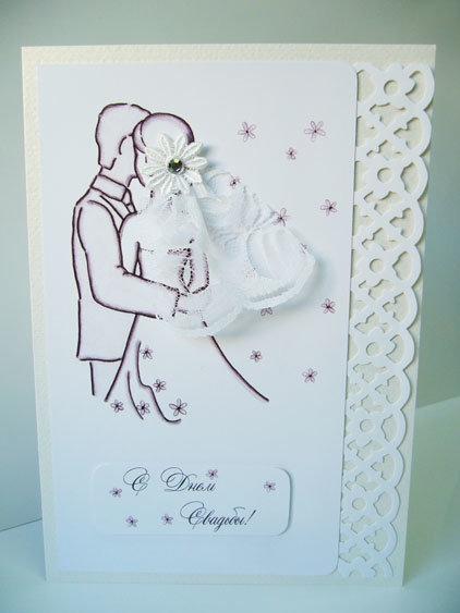 Скрапбукинг калькой, как делать открытки на годовщину свадьбы