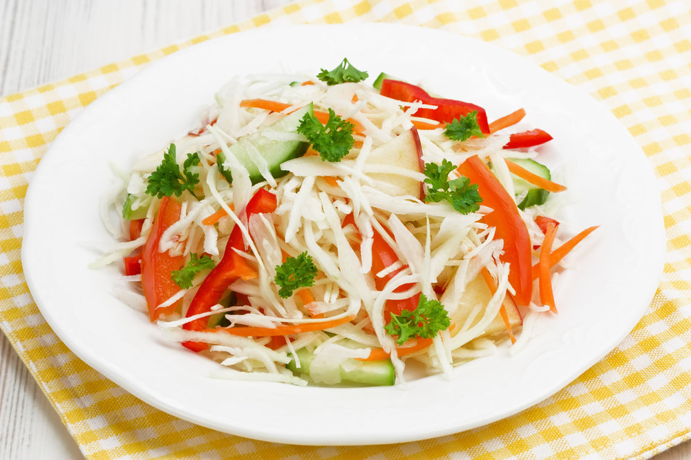 сладкий салат из капусты и моркови