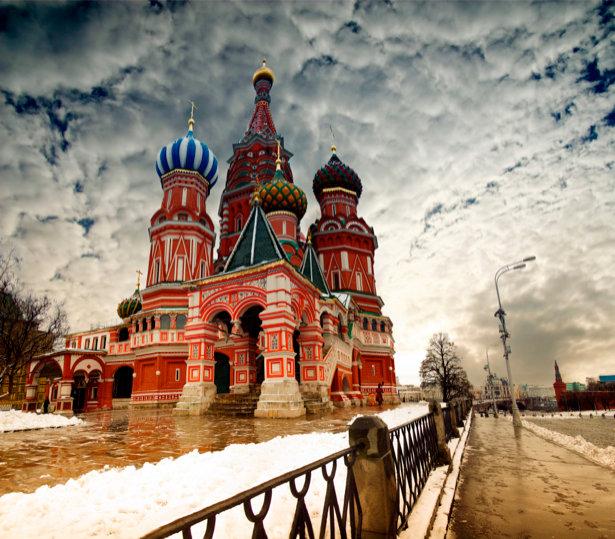Купить фотообои Фотообои Собор василия блаженного city-00...