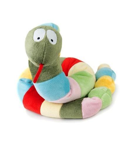 Игрушка-шарф-грелка Змея.