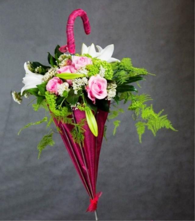 Букет цветов необычных фото
