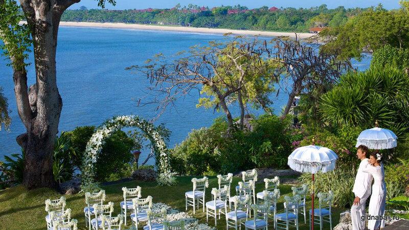 Свадьба на Бали в Four Seasons! Свадебная церемония во всемирно известном отеле.