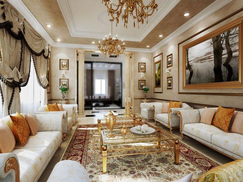 Изысканность в оформлении квартиры в Викторианском стиле