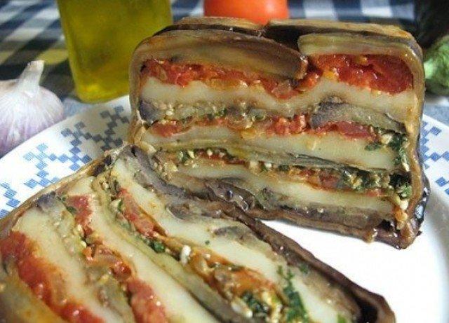 блюда с баклажанами рецепты с фото