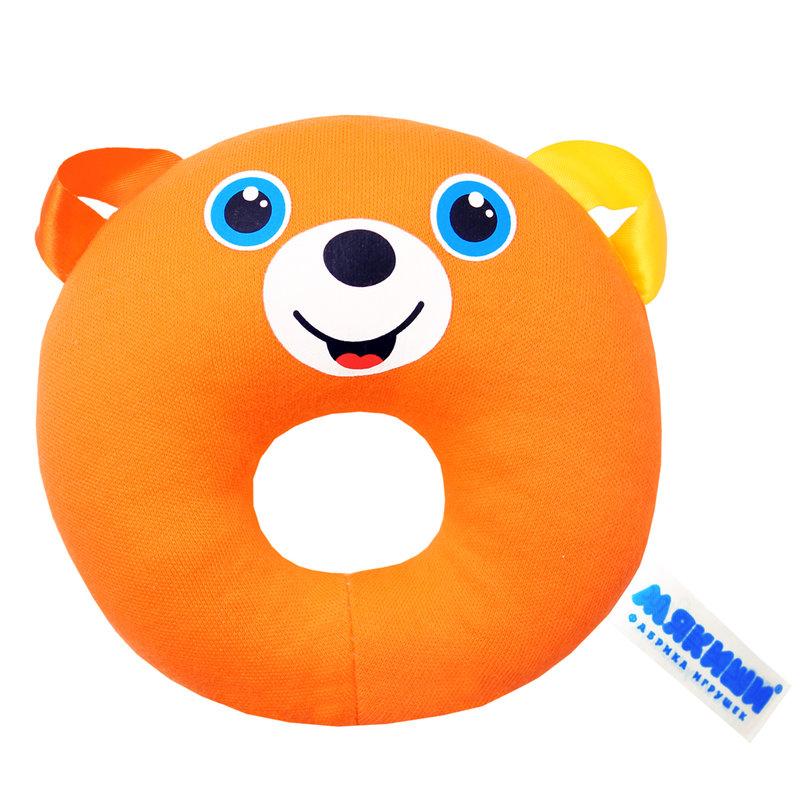 """Игрушка """"ШуМякиши"""" (Медвежонок колечко) -это яркий развивающий тренажёр для Вашего малыша."""