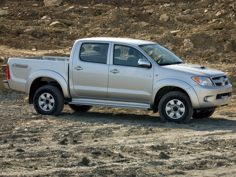 BAE Toyota Hilux Double Cab Armored