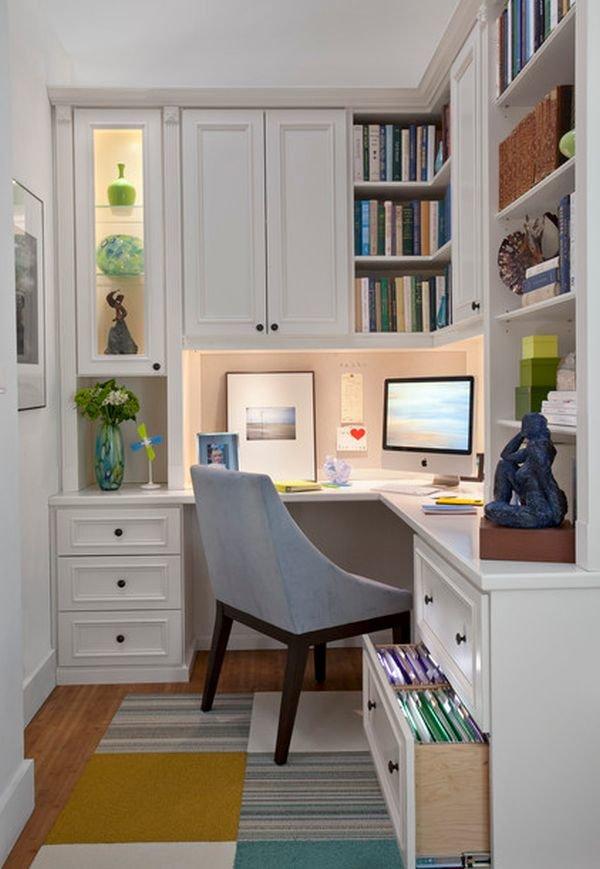 Маленький кабинет дизайн
