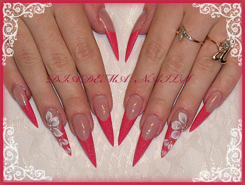 Дизайн ногтей пики фото