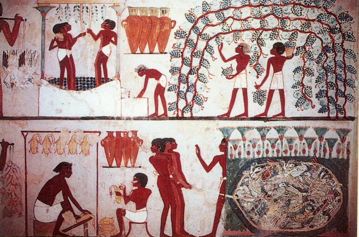 ancient egyptians and their marvelous work So those sneaky ancient egyptians made wall paintings like this showing massive amounts of manpower being used,  so that their marvelous work cannot be replicated.
