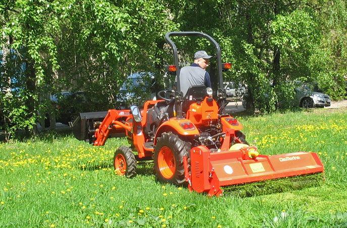 раскопе, лучшие мини трактора для домашнего хозяйства Самбади