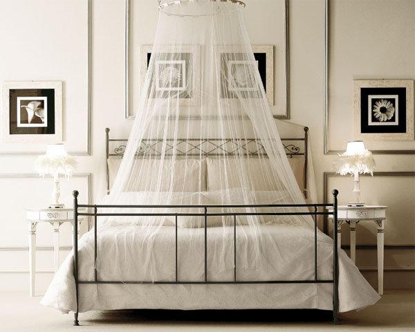 Балдахины и пологи над кроватью